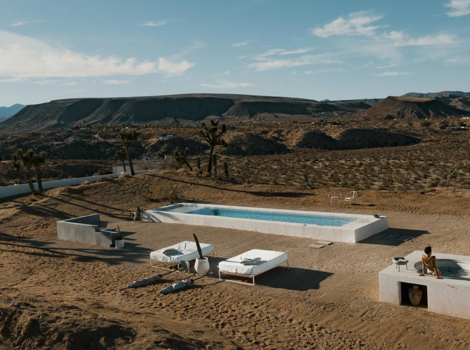 Ранчо La Chacuel: минимализм в долине Юкка