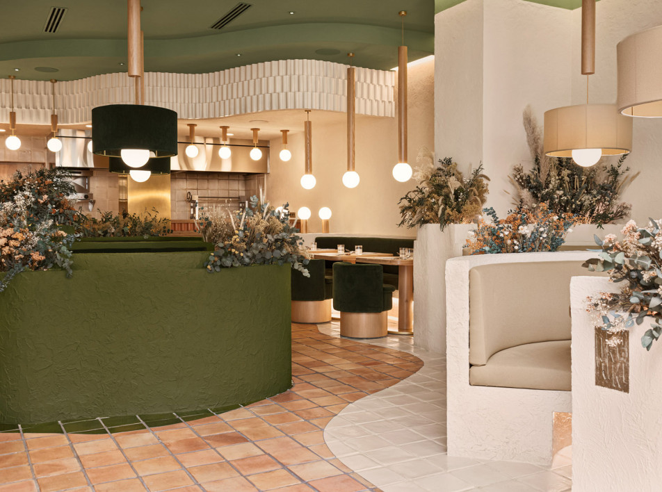 Masquespacio: испанский ресторан как отражение ландшафта