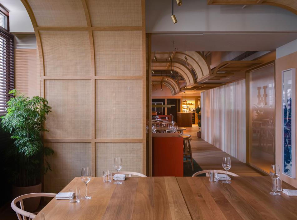 Snøhetta: ресторан Whey в Гонконге