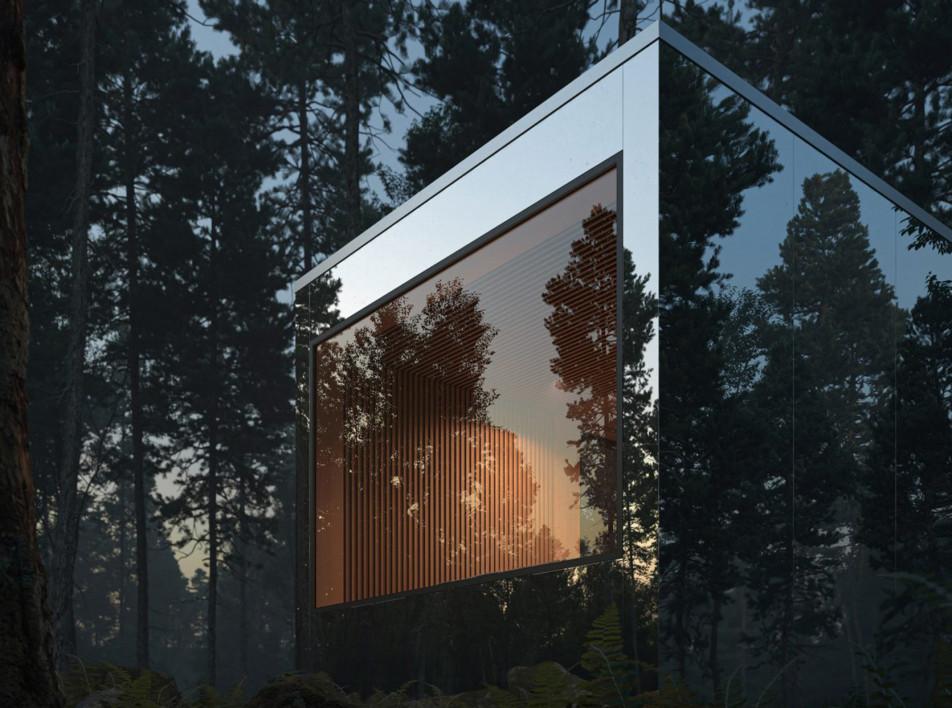 Leckie Studio и Aruliden: зеркальные домики в канадском лесу