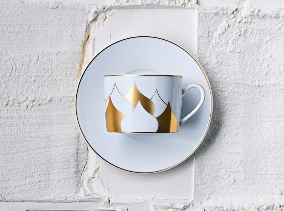 Дима Логинов: чайный сервиз для Cartier