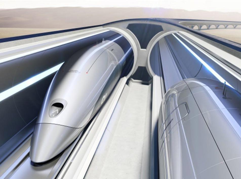 Zaha Hadid Architects и проект высокоскоростного транспорта Hyperloop