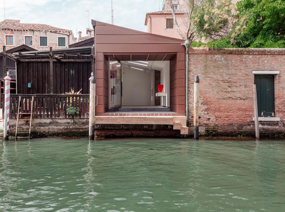 Spazio Berlendis: арт-центр на венецианской верфи