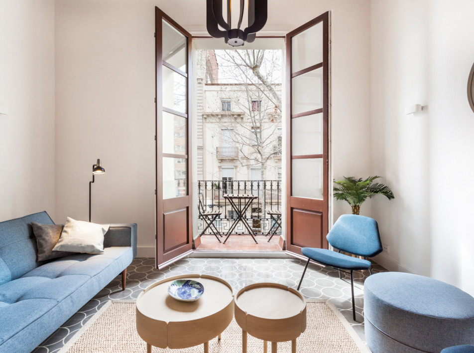 Fantastic Frank: обновленная квартира в Барселоне
