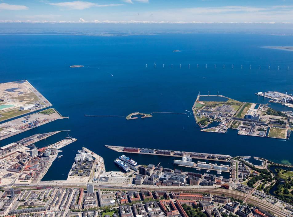 Искусственный остров у побережья Копенгагена