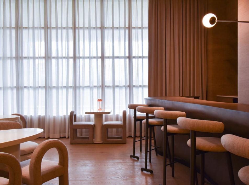 Atelier Ashiesh Shah: кафе Sequel в Мумбаи