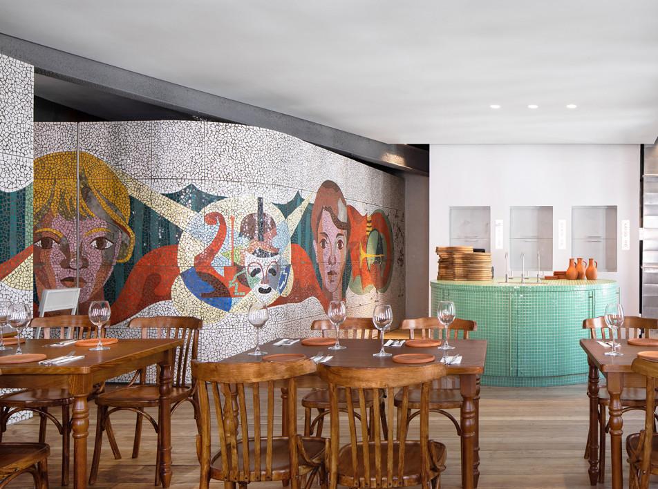 Грузинский ресторан по проекту «Бюро Правда»