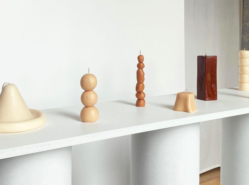 Скульптурные свечи Анны Винсан