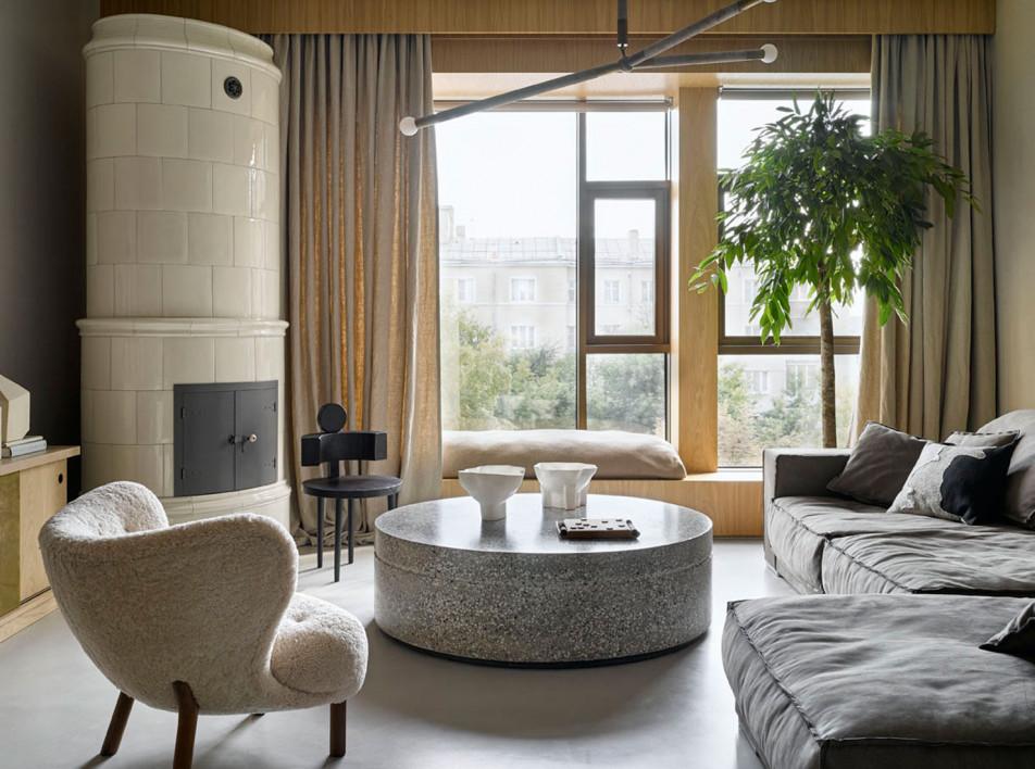 Workshop Studio: семейная квартира в московской новостройке