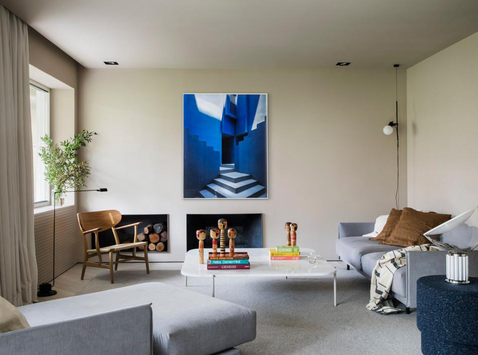 Febrero Studio: апартаменты в синих тонах в Мадриде