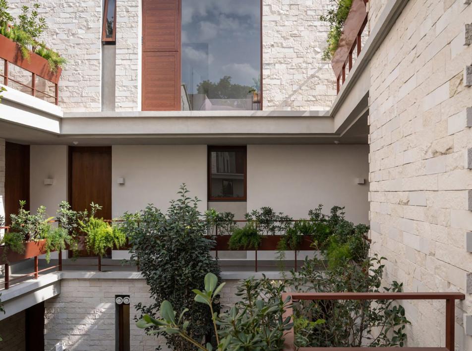 CPDA: жилой дом с садом в Мехико
