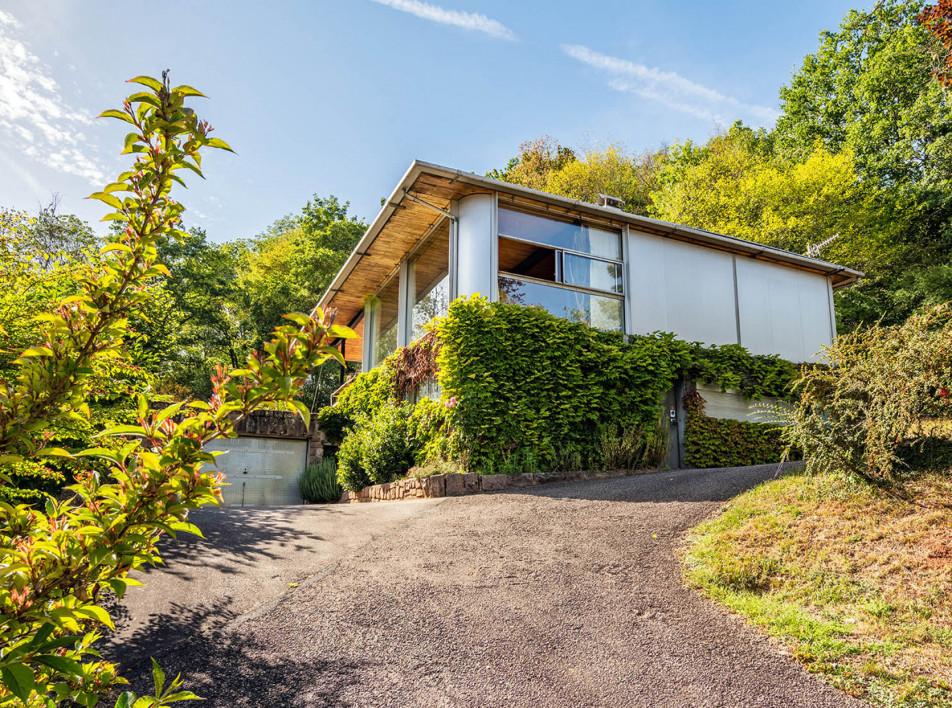 Футуристический дом Жана Пруве выставлен на продажу