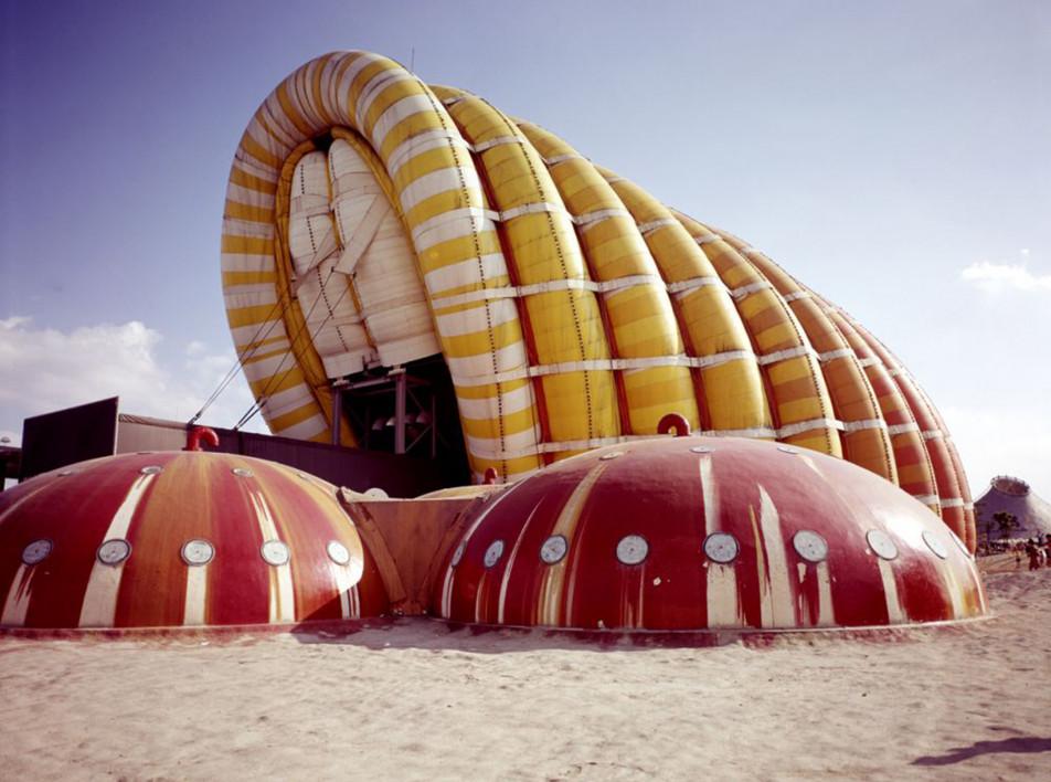 Aerodream: выставка надувной архитектуры