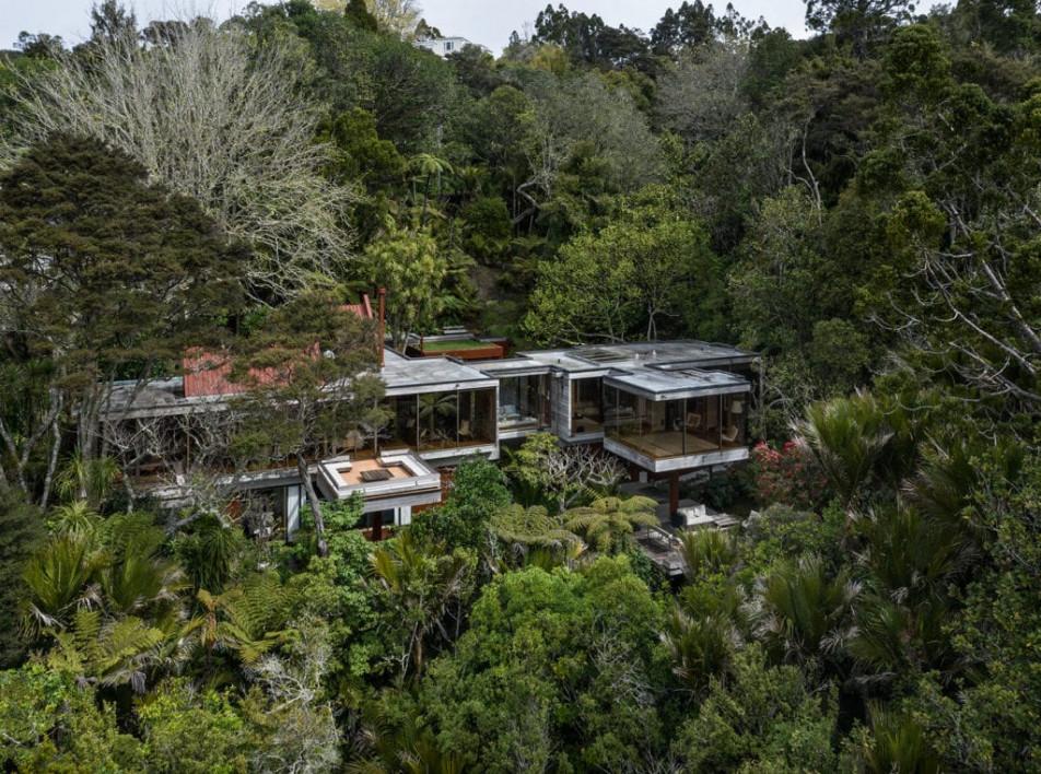 Новозеландский дом архитектора Рона Санга выставлен на продажу