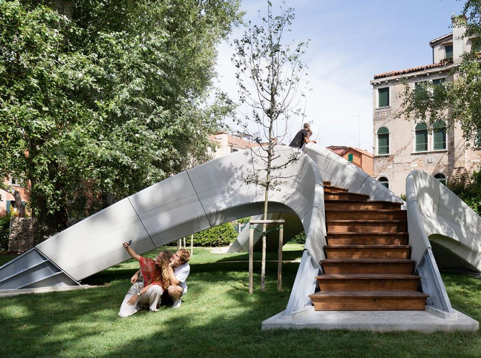 Zaha Hadid Architects: бетонный мост, напечатанный на 3D-принтере