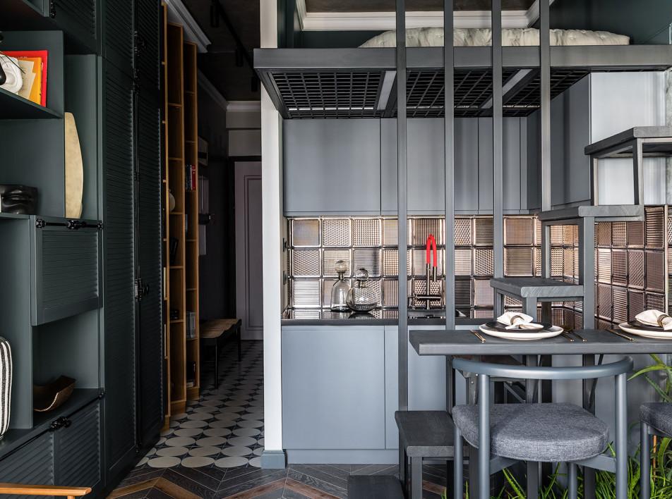 Анна Зуева: двухуровневая квартира площадью 26 кв. метров