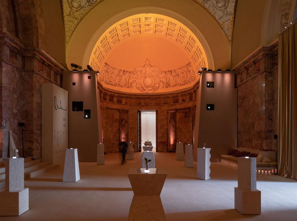 A.DPT: экспозиционный дизайн для выставки Катара в Санкт-Петербурге