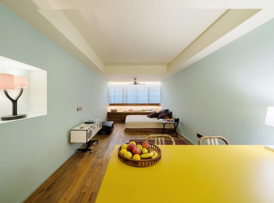 Альдо Чибич: квартира площадью 34 кв. метров в Шанхае