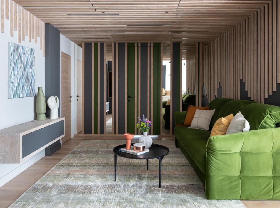 Brickburo: квартира в новостройке для семьи с тремя детьми