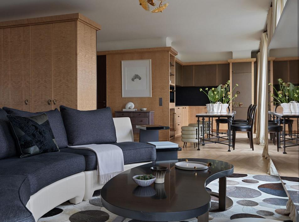 Copper & Tin: квартира-студия 62 кв. метра в Петербурге