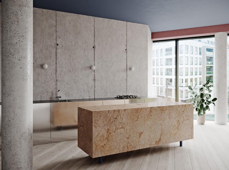 Graft Architects: бетонные апартаменты в Берлине