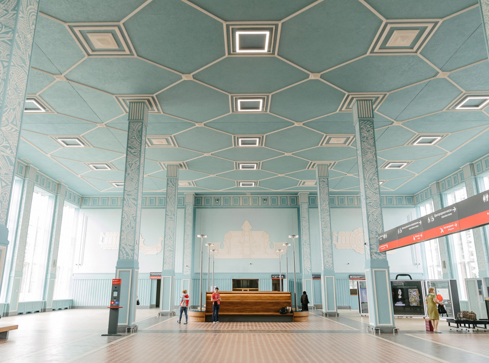 Art Station: междисциплинарный проект на вокзале города Иваново