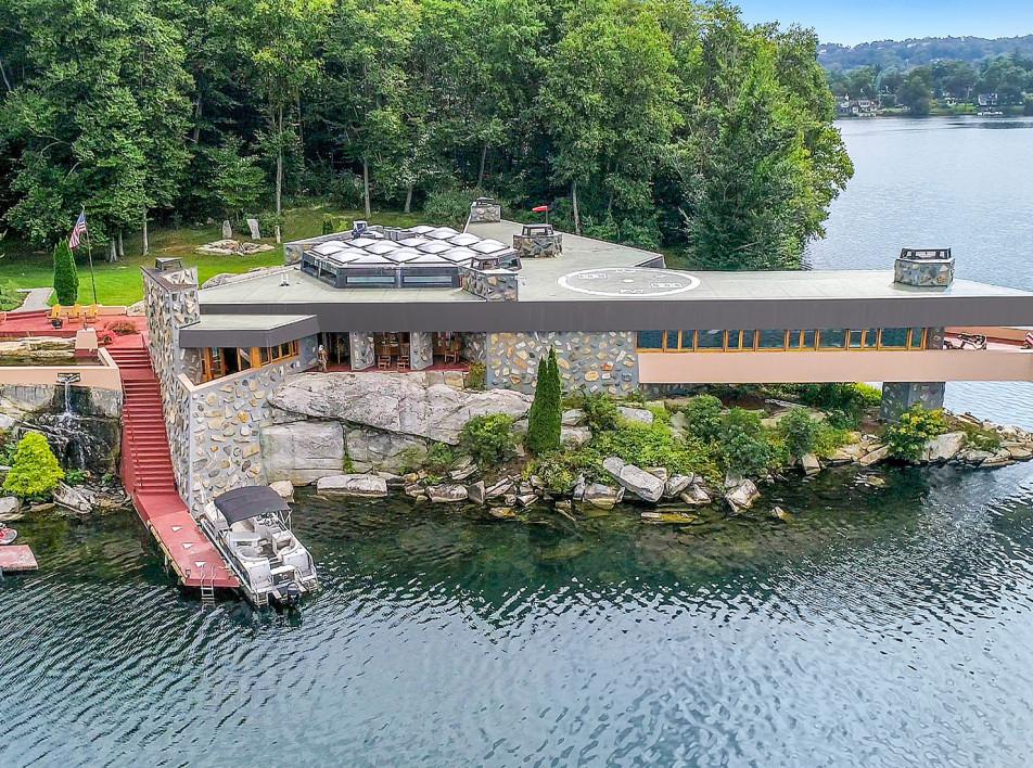 Фрэнк Ллойд Райт: дом на острове