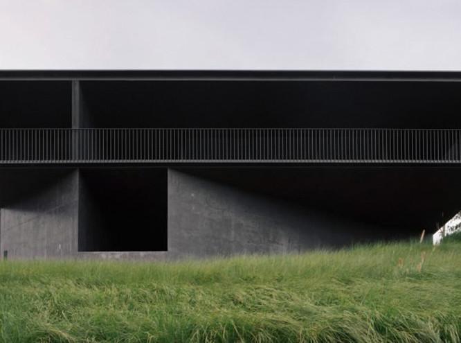Edition Office: дом из черного бетона в Мельбурне