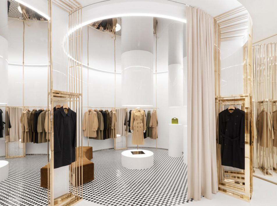 Винченцо Де Котис: флагманский бутик Burberry в Лондоне