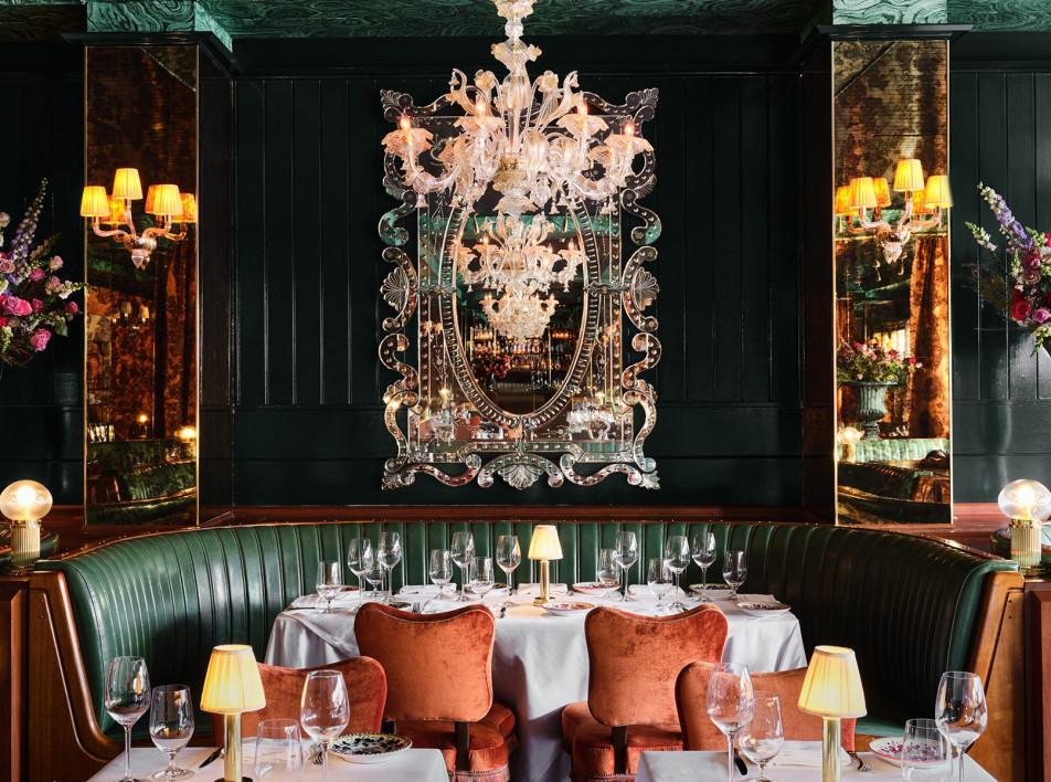 Высокий ресторанный дизайн: 9 новых мест от Нью-Йорка до Сиднея