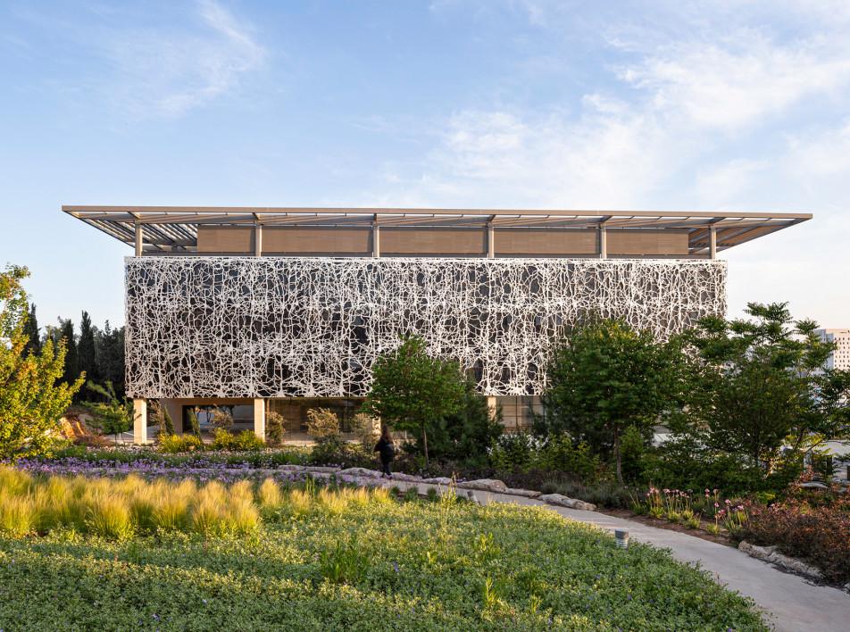 Научный центр в Иерусалиме по проекту Foster + Partners