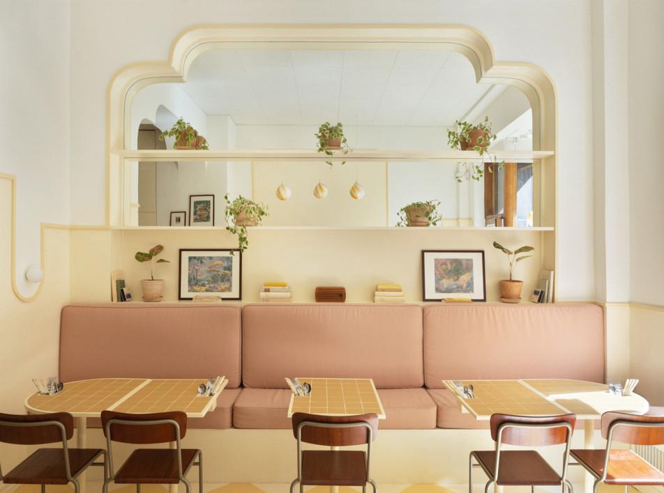 ASKA: кафе в пастельных тонах в Стокгольме