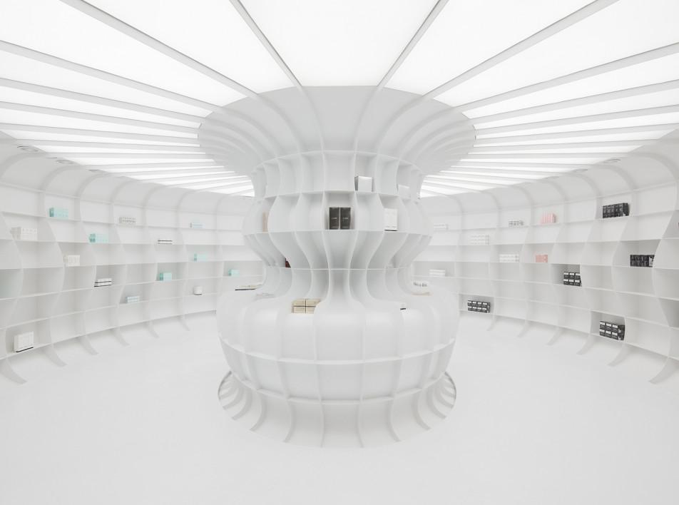 AIM Architecture: подземный бутик в Пекине