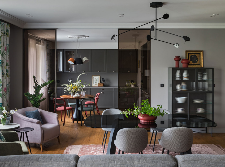 Квартира для семейной пары в Минске по проекту студии i-project