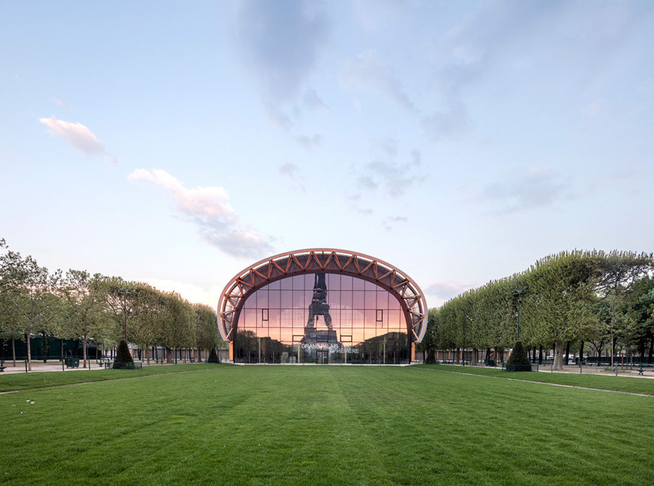 Wilmotte & Associés: дворец-префаб в Париже