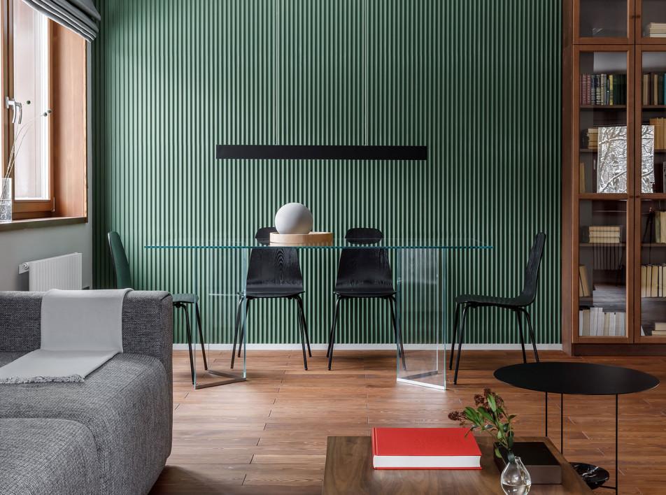 Квартира для семьи из трех человек по проекту Make Design