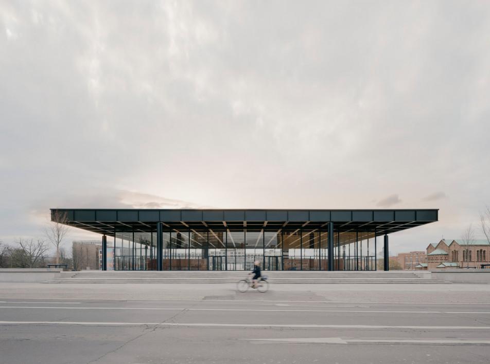 David Chipperfield Architects: Neue Nationalgalerie в Берлине
