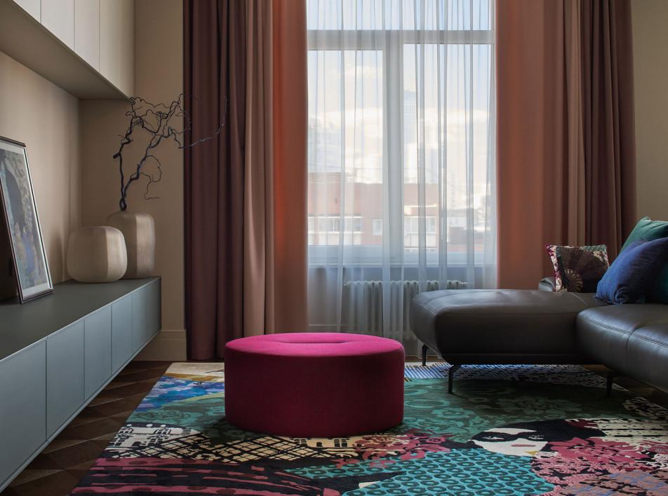 Елена Тюжина: семейная квартира в Екатеринбурге