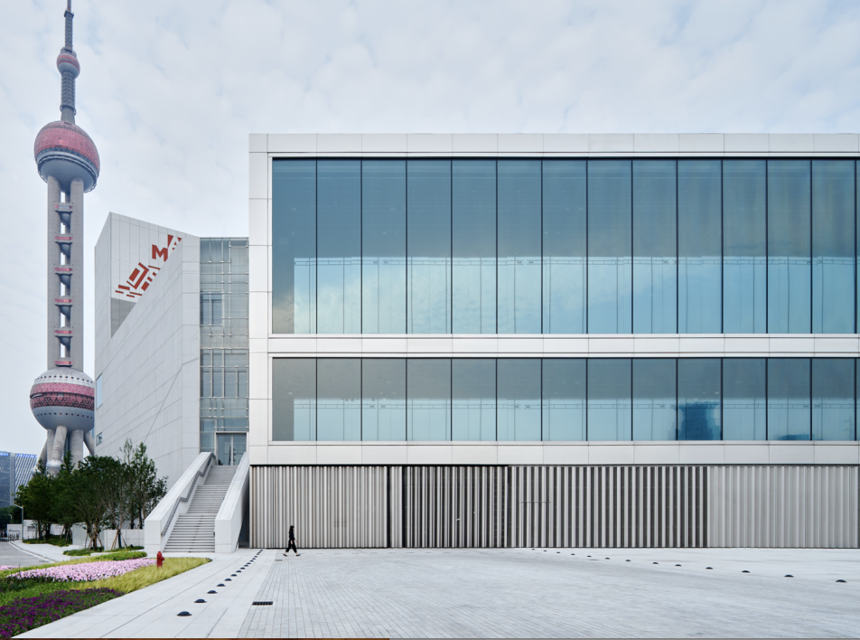Музей искусств Пудун (MAP) по проекту Жана Нувеля в Шанхае
