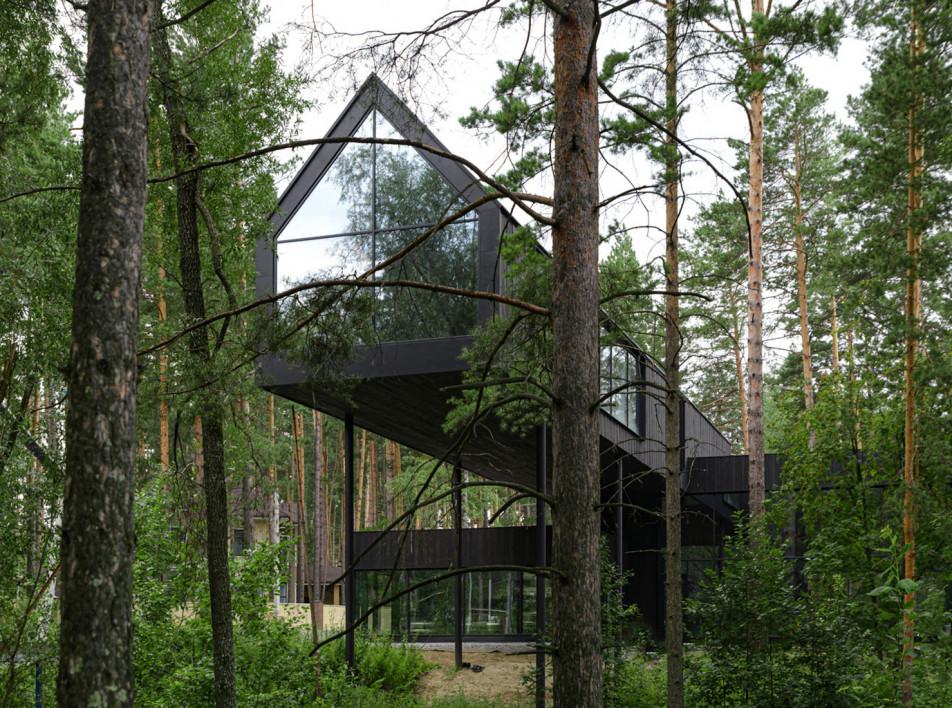 Юрий Куликов: дом в лесу под Новосибирском