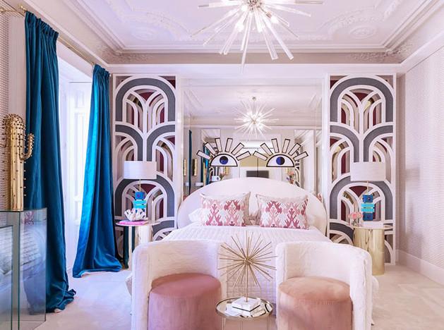 Нурия Алиа: спальня в стиле 80-х