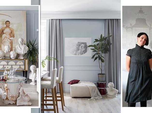 ONLY design: квартира для артлавера
