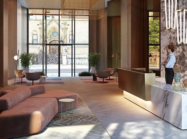 Патрисия Уркиола: жилой комплекс в Лондоне