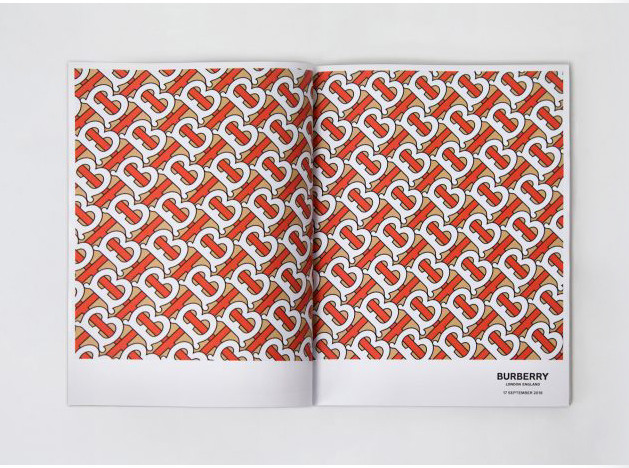 Питер Сэвилл меняет логотип Burberry
