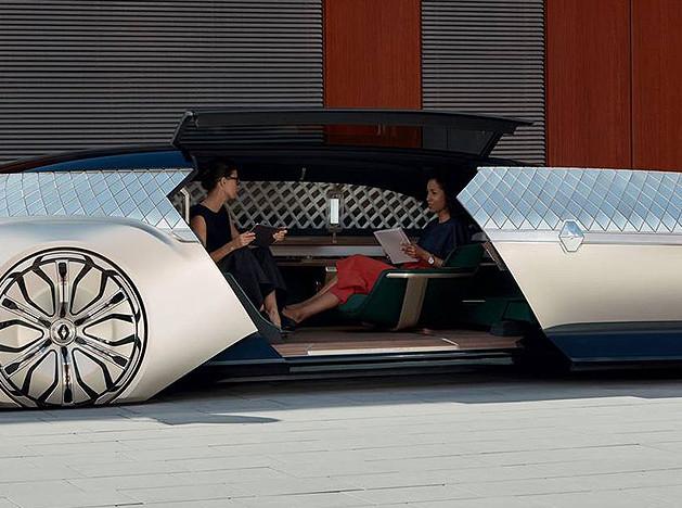 Renault Ez-Ultimo: будущее электромобилей
