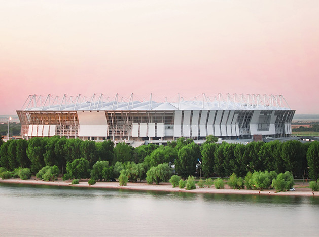 Cпорт в России: 13 стадионов