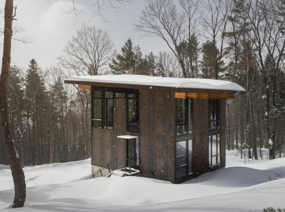 Olson Kundig Architects: семейный дом в лесу