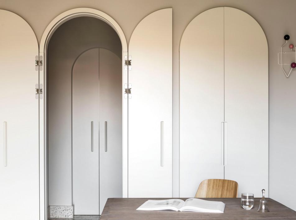Квартира в Милане по проекту ATOMAA