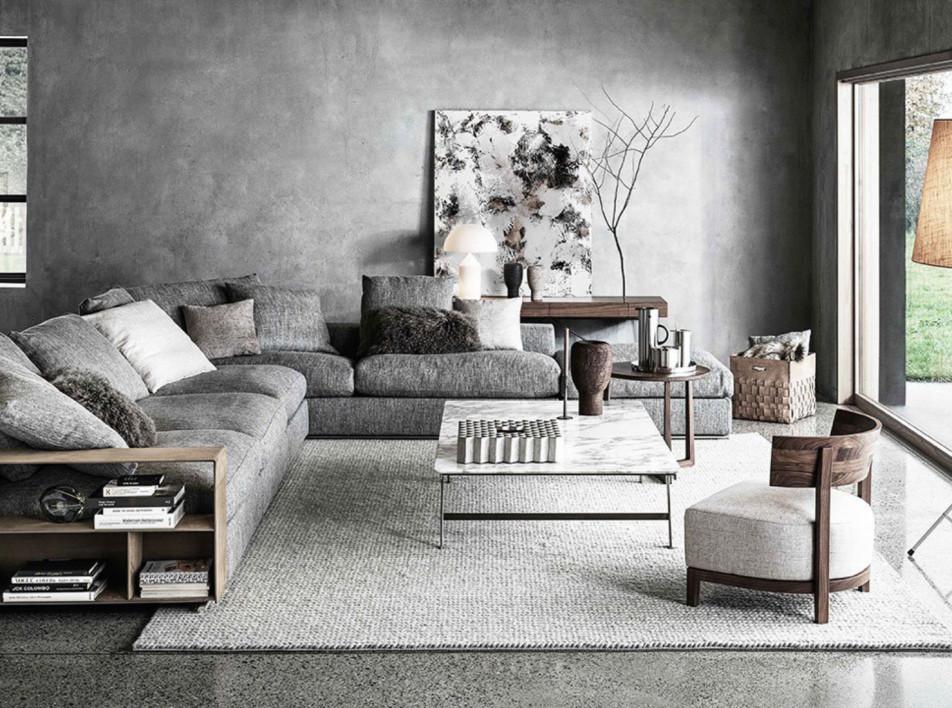 Диваны Flexform и дизайн Антонио Читтерио: стиль, элегантность и удобство