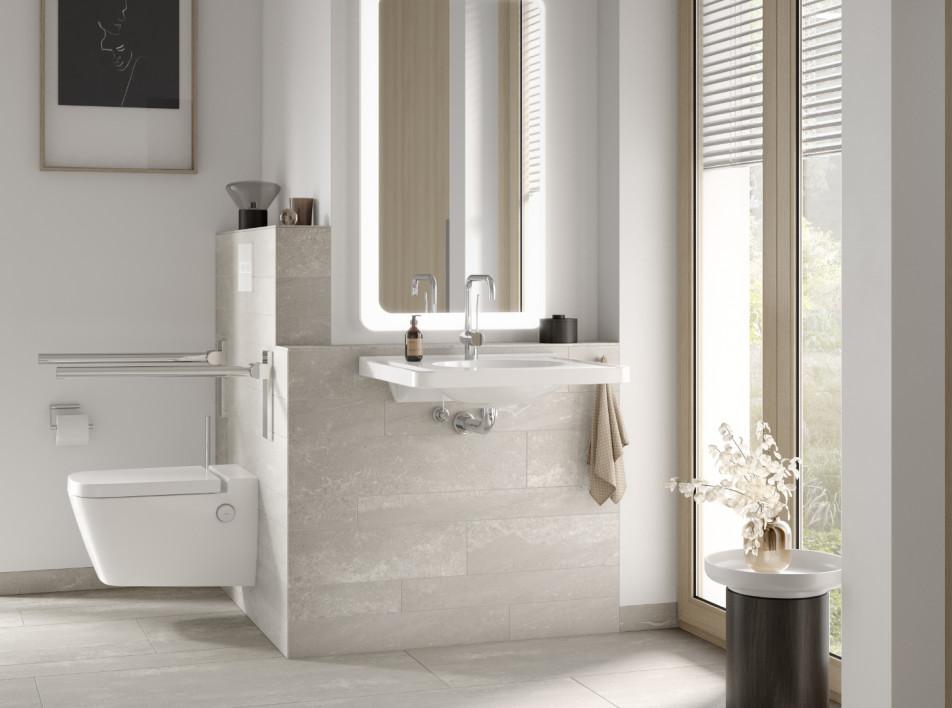 Дизайн ванной комнаты: большие возможности скрытых систем